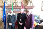 Incontro a Venezia fra il patriarca Moraglia, il cardinale Coutts, il sindaco Brugnaro e il direttore ACS Monteduro