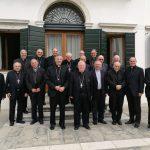 I vescovi del Triveneto a confronto con il cardinal Bassetti