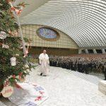 In Vaticano il presepio del Trentino e l'albero dal Veneto