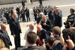 UDINE – I seminaristi incontrano papa Francesco a Roma